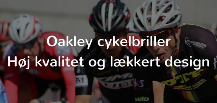 oakley cykelbriller