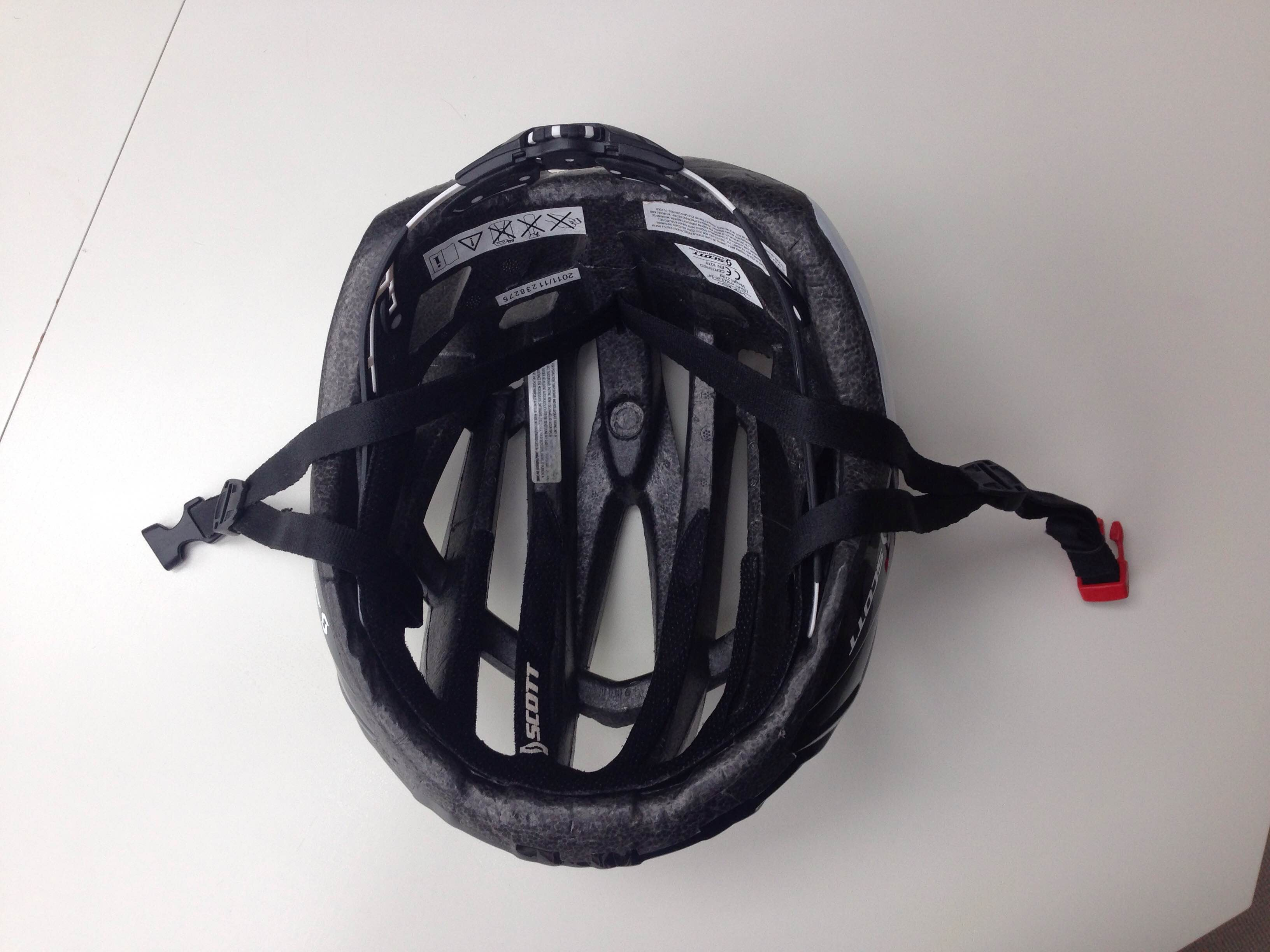 Cykelhjelm stort hoved