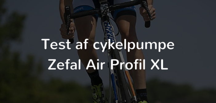 test af cykelpumpe